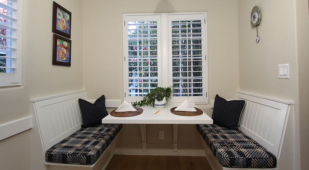 little john cottage dining nook