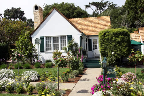 carmel cottages in english gardens